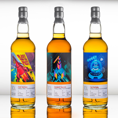 2018 The Future of Whisky bottling series is launched at Whisky Show