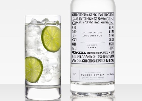 2019 We launch our customisable London Dry Gin