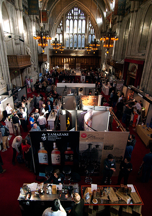 2009 The first Whisky Show, at The Guildhall, London