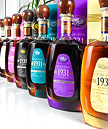 WIN: A complete set of St Lucia 1931 single traditional blended rums