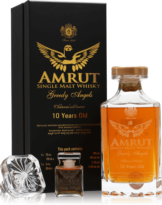 The Prize – Amrut Greedy Angels 10 Year Old