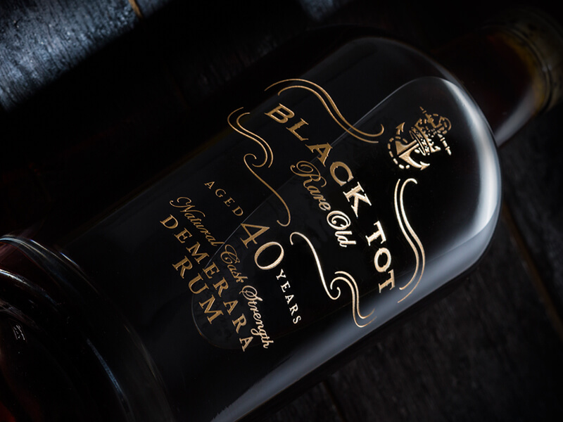 Black Tot 40 Year Old Rum