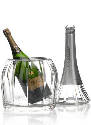Bollinger SPECTRE Limited Edition R.D. 1988 Magnum & Saint Louis Crystal Ice Bucket