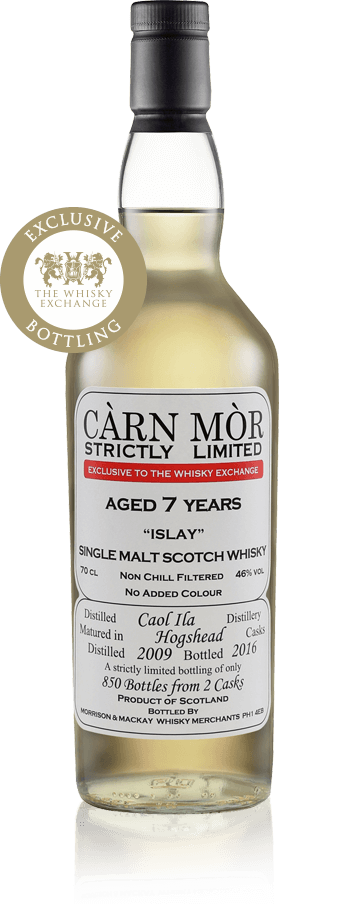 Caol Ila 2009 Carn Mor Whisky Exchange exclusive
