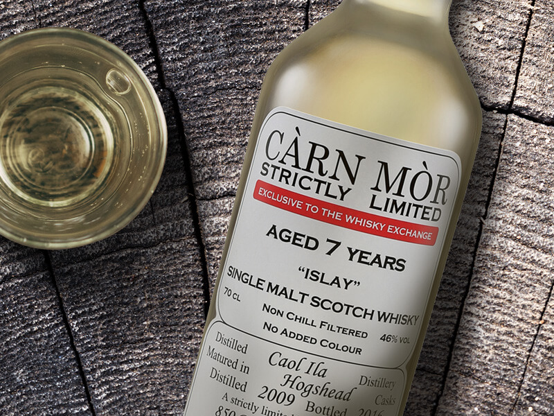 Caol Ila 2009 Carn Mor Whisky Exchange exclusive bottle