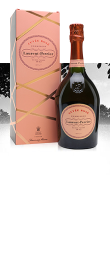 Laurent-Perrier Rose NV / Pink Champagne / Gift Box
