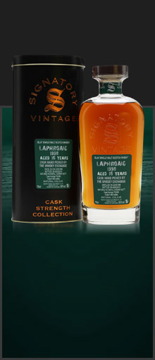 Laphroaig 1998 / 16 Years Old / Signatory for TWE