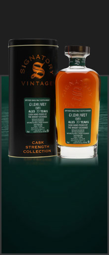 Glenlivet 1981 / 33 Years Old / Signatory for TWE