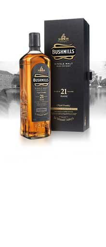 Bushmills 21 Year Old / Madeira Finish