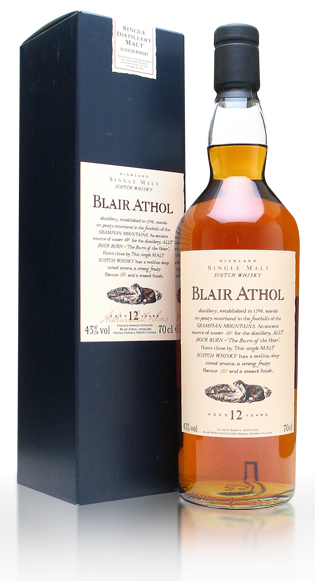 Blair Athol 12 Year Old with gift box