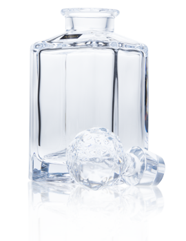 Bohemia Crystal / Whisky Decanter / Square / 80cl (28.1oz) Presentation