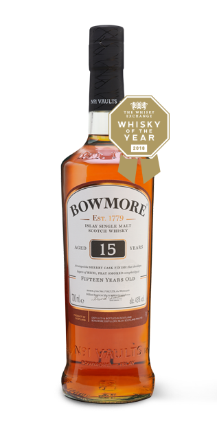 Bowmore 15 Year Old 2 Glass Set