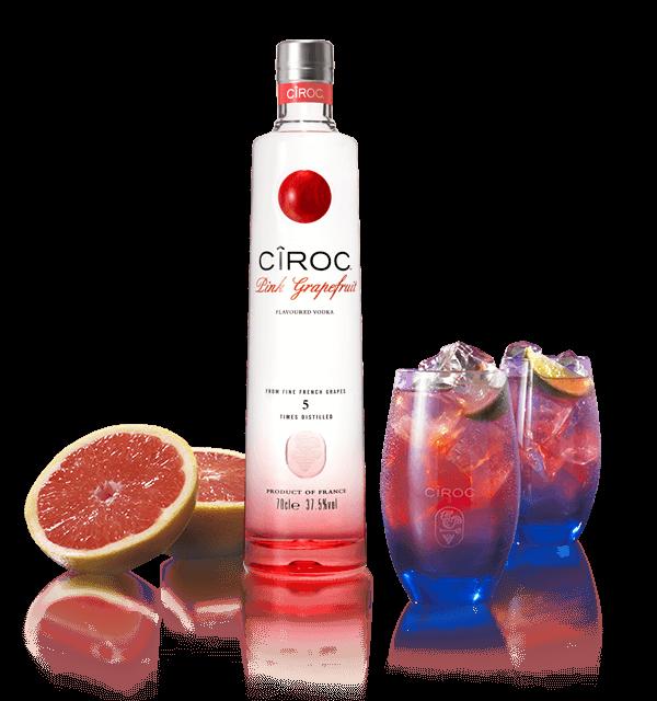 Personalised Ciroc Pink Grapefruit Vodka Engraving : The ...