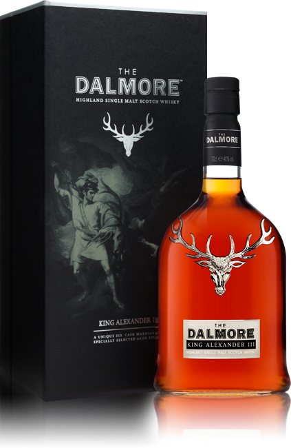 Dalmore King Alexander III bottle with box