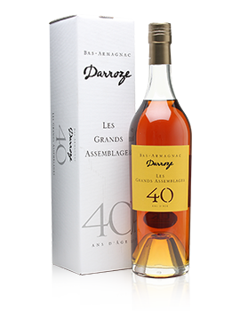 Darroze Les Grands Assemblages 40 Year Old Armagnac Presentation