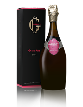 Gosset Grand Rose Brut NV Champagne Presentation