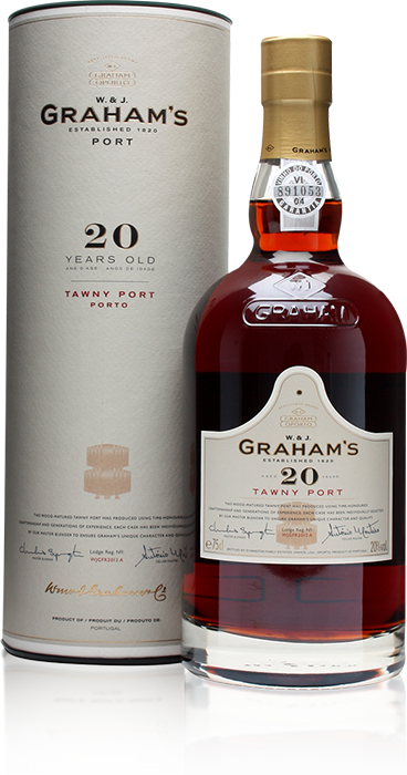 Graham's 20 Year Old Tawny Port with gift tube