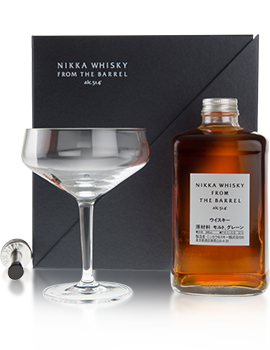 Nikka From the Barrel Classic Cocktail Pack Presentation