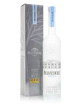 Belvedere Vodka / Gift Box Presentation