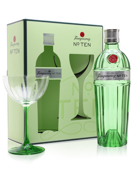 Tanqueray No 10 Coupette Glass Pack