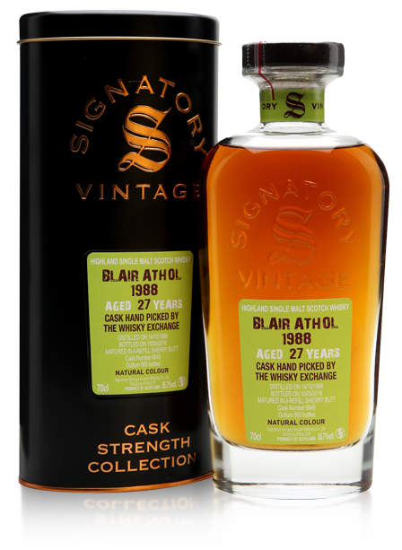 Blair Athol 1988 27 Year Old Signatory TWE Exclusive