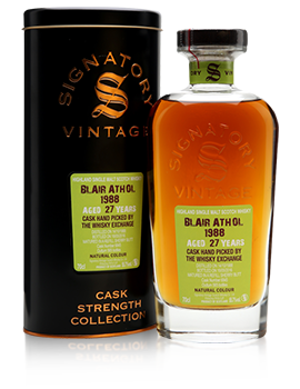 Blair Athol 1988 / 27 Year Old / Signatory / TWE Exclusive Presentation