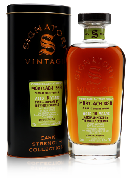 Mortlach 1998 18 Year Old Signatory TWE Exclusive