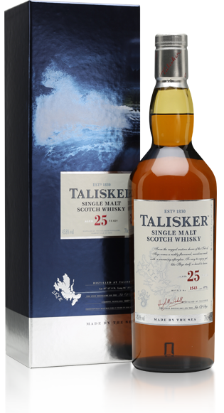 Talisker 25 Year Old Bot.2013 with gift box
