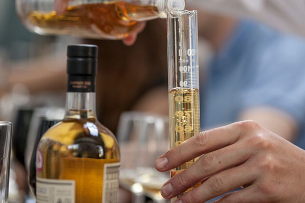 Making blended Scotch whisky