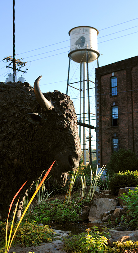 Buffalo Trace's iconic water tower