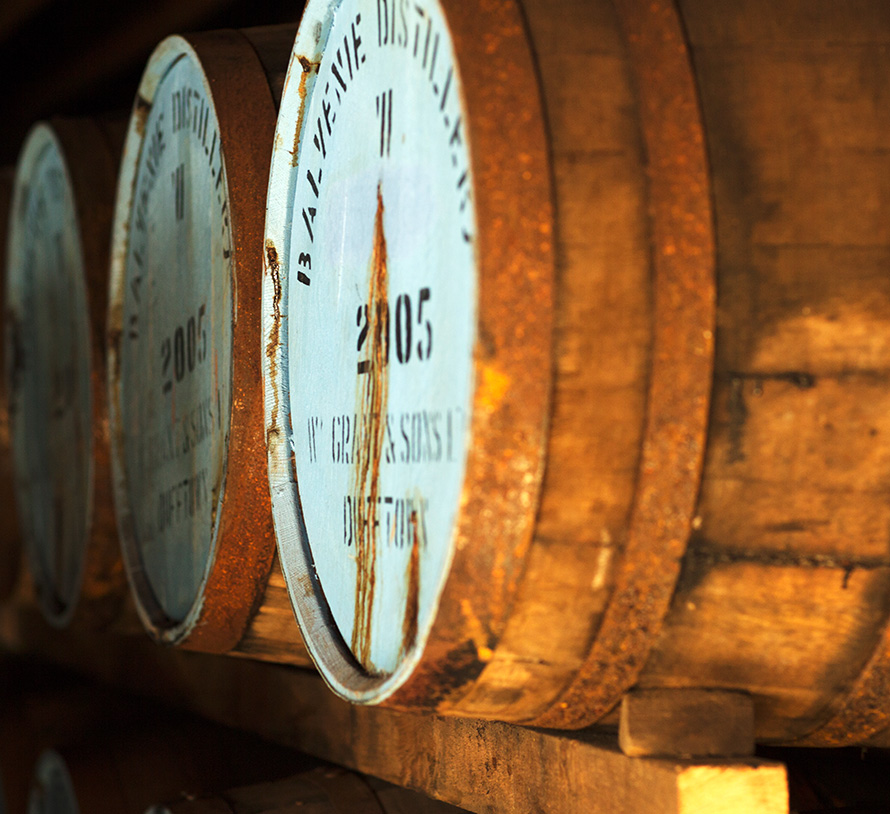 Balvenie was one of the first distilleries to use whisky finishing