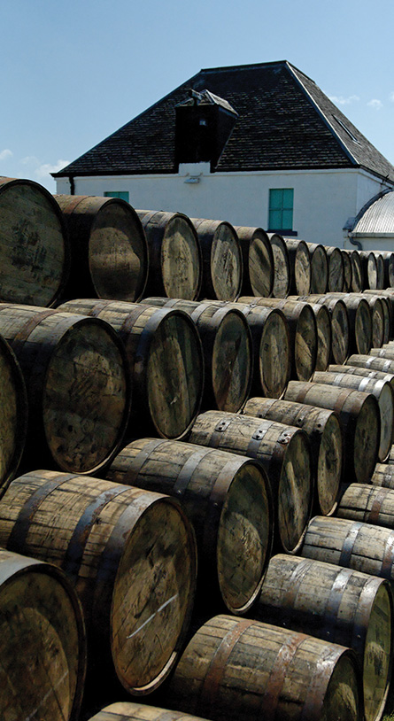 Whisky finishing came to prominence in the 1980s