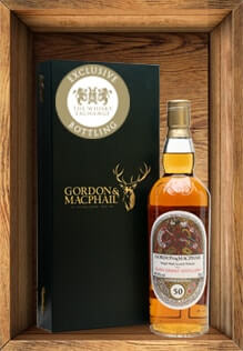 Prize one – Glen Grant 50 year old