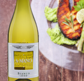 A Mano White Wine - Pair with Grilled Fish