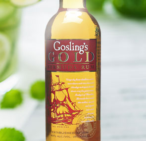 Gosling's Rum - Great with Ginger Beer
