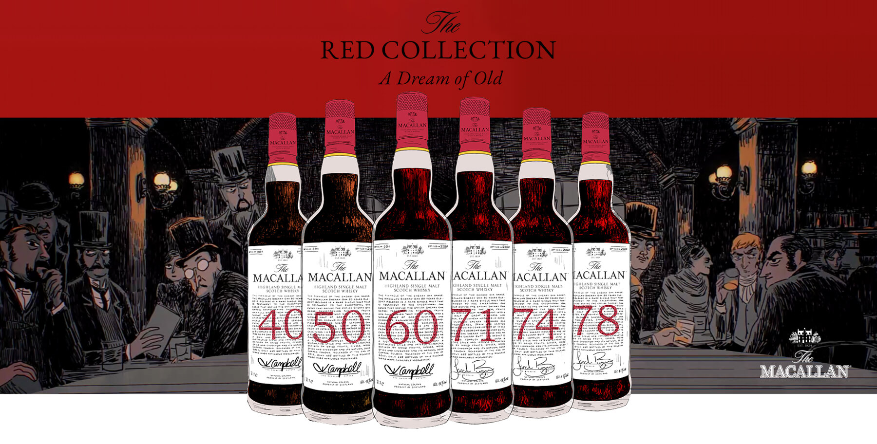 Macallan Red Collection