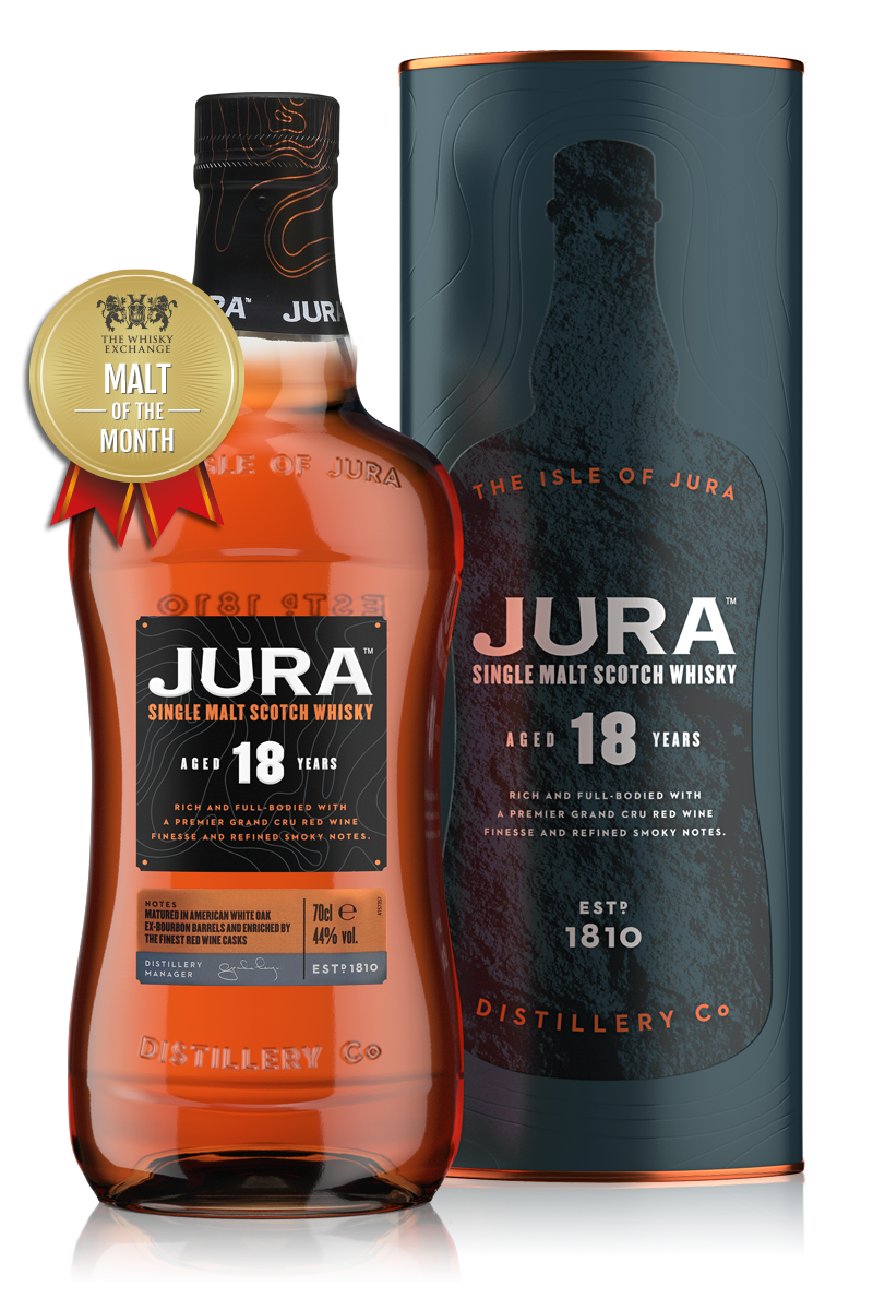 The Whisky Exchange Malt of the Month – Jura 18 Year Old