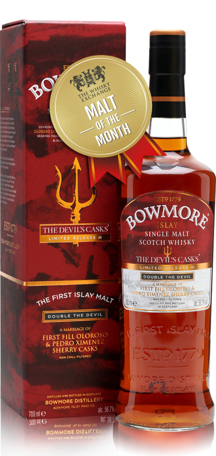 The Whisky Exchange Malt of the Month – Bowmore The Devil's Casks III