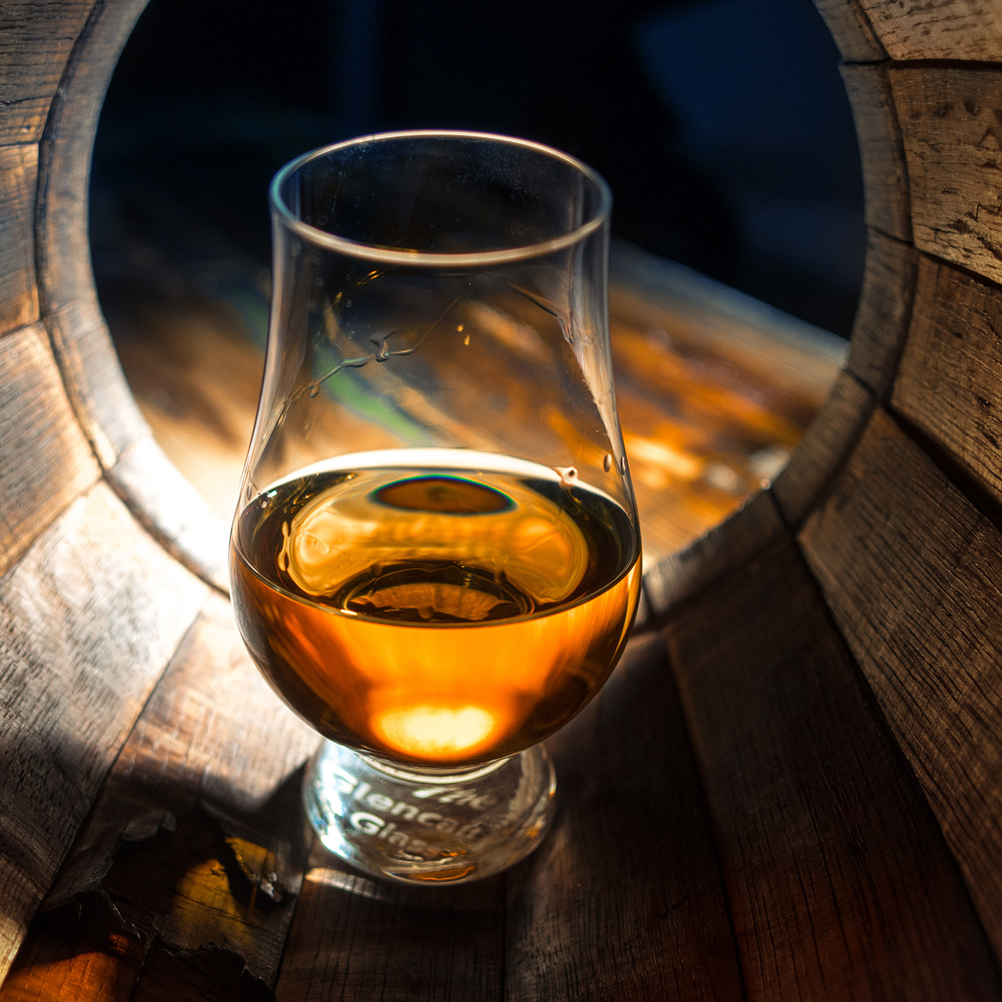 Glass of Bowmore The Devil's Casks III