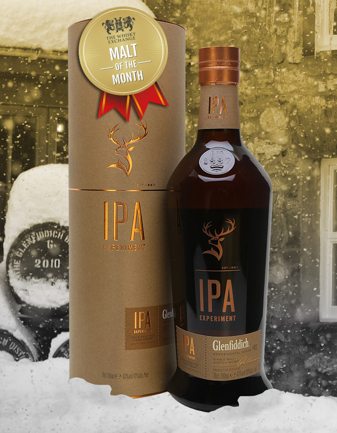 The Whisky Exchange Malt of the Month – Glenfiddich IPA