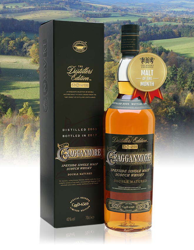 The Whisky Exchange Malt of the Month – Cragganmore 2005 Distillers Edition