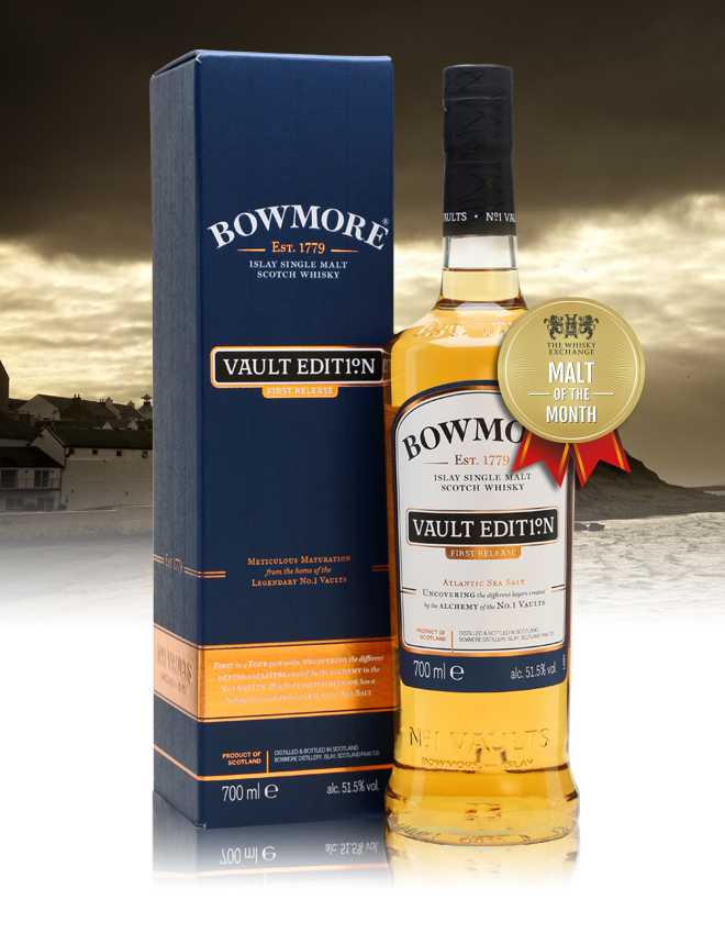 The Whisky Exchange Malt of the Month – Bowmore Vault Edition First Release