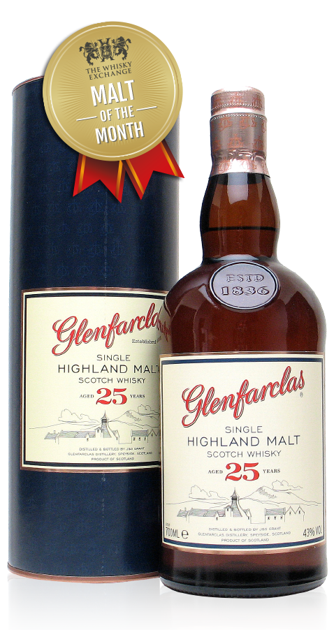 The Whisky Exchange Malt of the Month – Glenfarclas 25 Year Old