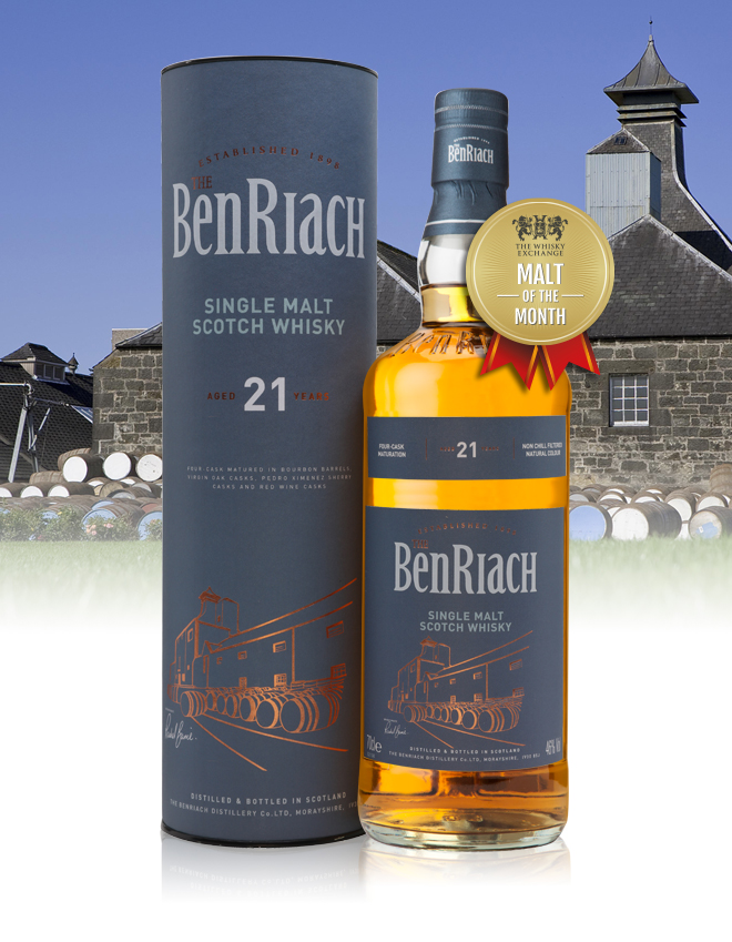 The Whisky Exchange Malt of the Month – Benriach 21 Year Old Classic