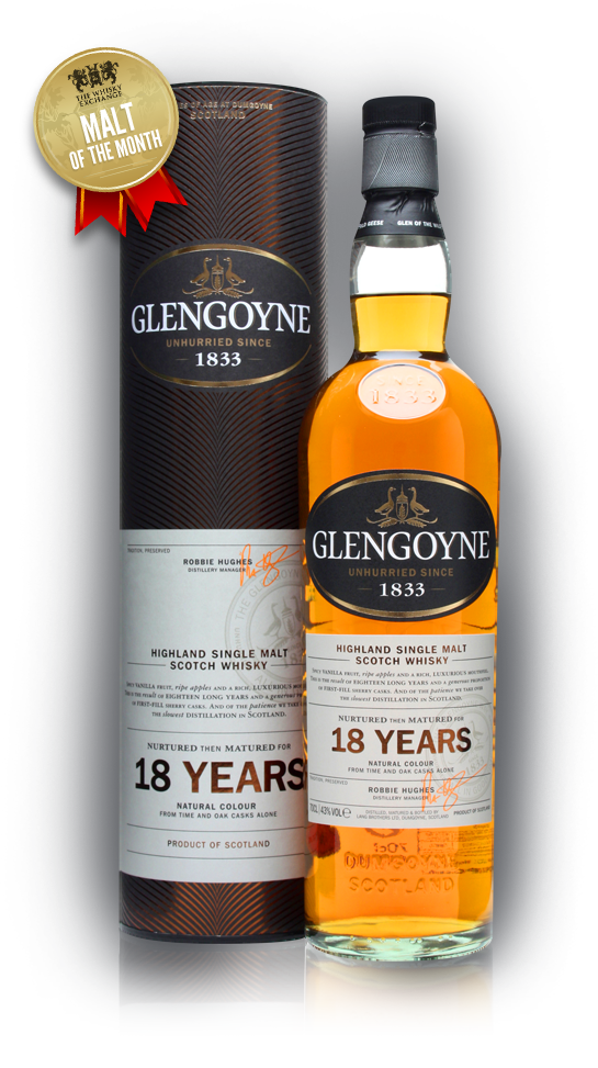 The Whisky Exchange Malt of the Month - Glengoyne 18 Year Old