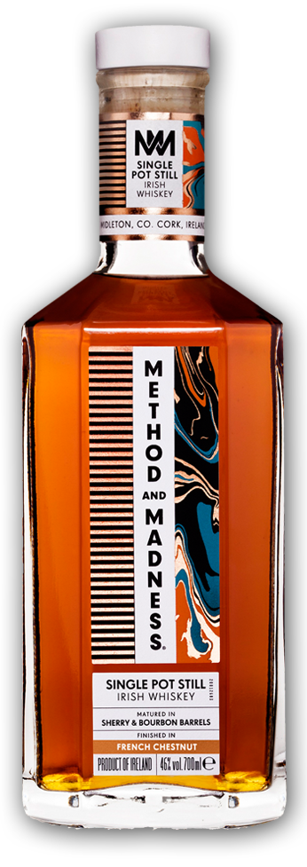 Method and Madness Single Pot Still Irish Whiskey