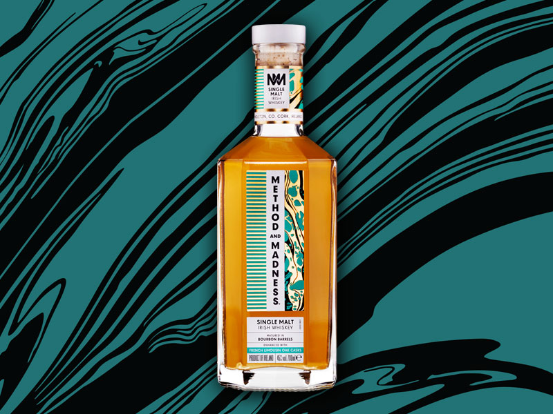Method and Madness Single Malt Irish Whiskey