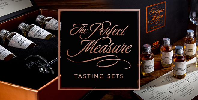 Perfect measure tasting sets
