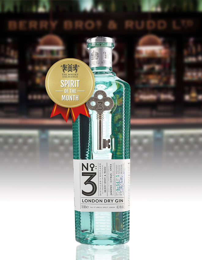 No. 3 Gin – The Whisky Exchange Spirit of the Month