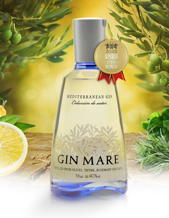 Mare Mediterranean Gin – The Whisky Exchange Spirit of the Month